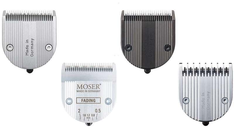 Cuchillas Premium Moser Made in Germany, fiabilidad y durabilidad sin límites