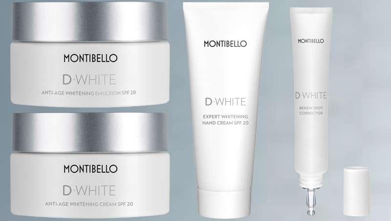 Es tiempo de despigmentación con la solución definitiva, D-White de Montibello