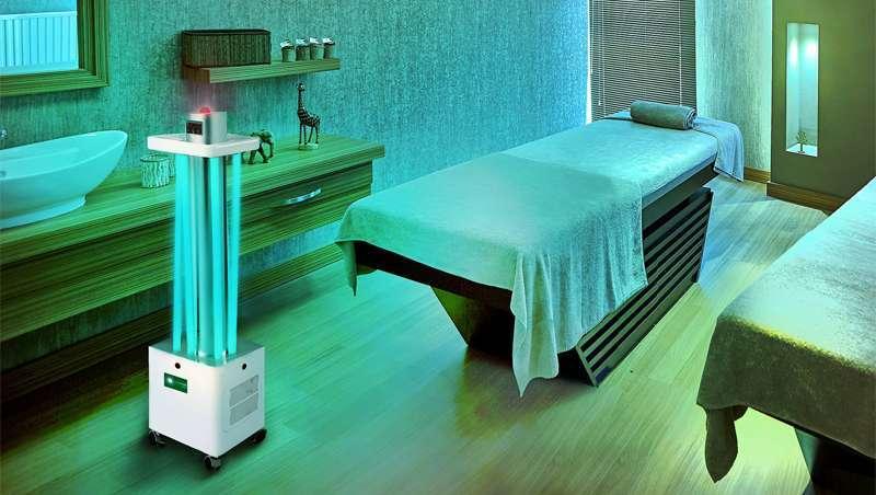 Robots ultravioleta, os novos guerreiros contra vírus e bactérias
