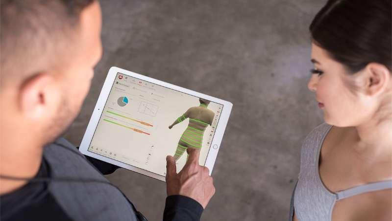 El escáner corporal que te facilita la vida, el diagnóstico, entrenamiento, motivación y resultados en el gimnasio