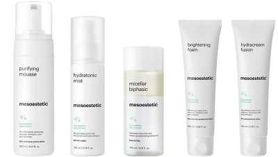 Mais além da higiene facial, cleansing solutions de mesoestetic