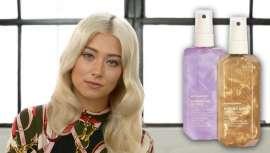 A empresa tem dois sprays, Shimmer.Me Blonde e Shimmer.Shine, que reacendeu o brilho durante a reparação e proporcionar um acabamento saudável para o cabelo