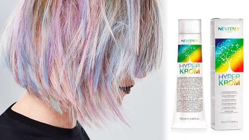 Nevitaly lanza Hyperkrom, la coloración directa en crema libre de oxidación y amoniaco