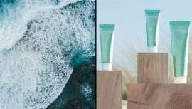 Todo el poder iluminador de las algas de la Bretaña, Cyfolia en un ritual espléndido de tres pasos Ecocert, unido a envases eco responsables y reciclables