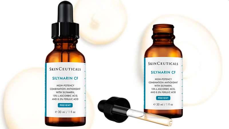 Silymarin CF de Skinceuticals, antioxidante para pieles grasas y con tendencia acnéica