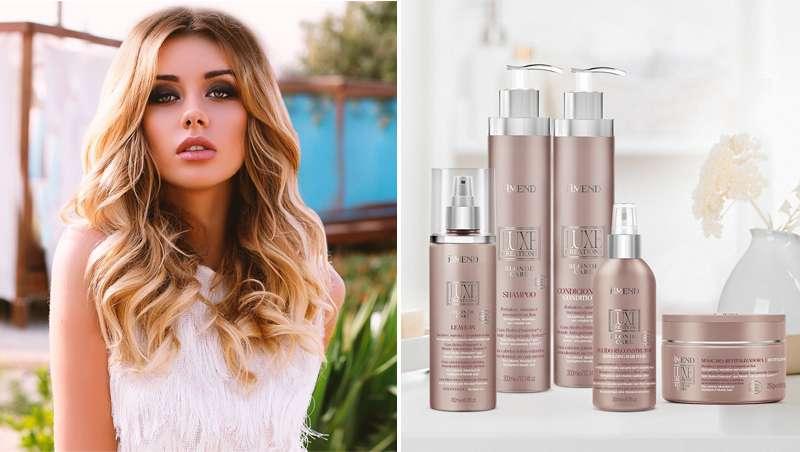 Amend Luxe Creations Blonde Care devuelve la vida al cabello rubio y decolorado