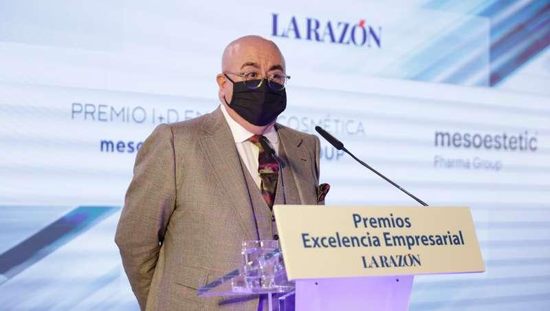 mesoestetic, Premio a la Excelencia Empresarial del diario La Razón por su 'I+D en dermocosmética'