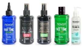 Novon by ZZ Men tiene lo último para crear los looks más deseados del universo masculino, el styling, el cuidado del cabello y el cuero cabelludo y la piel del rostro