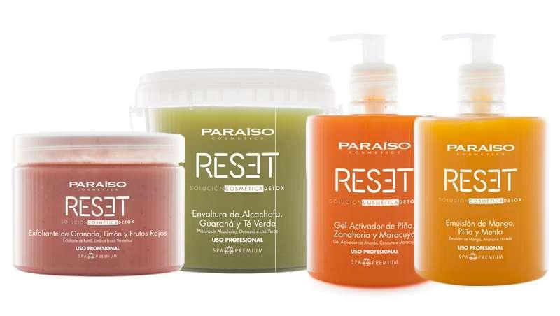 Adelgaza y tonifica, tratamiento corporal Reset de Paraíso Cosmetics