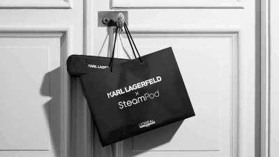 Regala SteamPod de Karl Lagerfeld en San Valentín