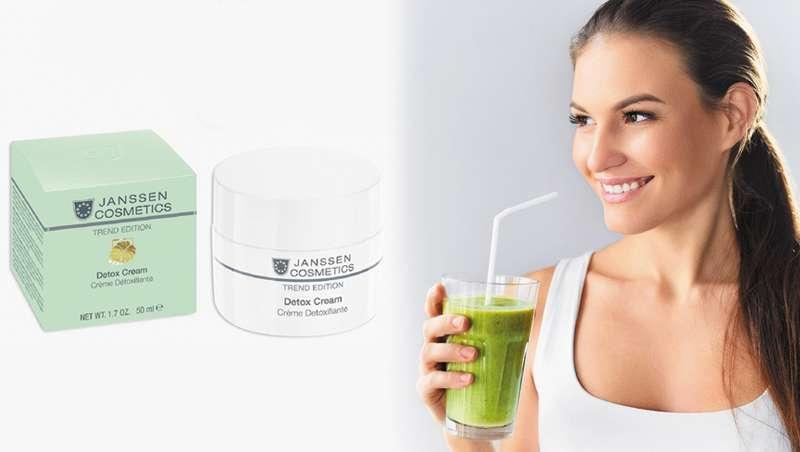 Un seguro de salud y belleza, Tratamiento Detox de Janssen Cosmetics
