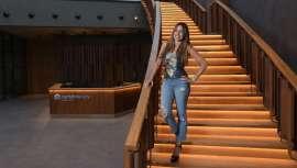 La celebrity se alía con el laboratorio español en el proyecto de desarrollar una gama de productos cosméticos con su sello y esencia
