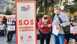 La imagen personal prepara una nueva movilización nacional en más de 80 ciudades españolas el próximo 22 de marzo para reclamar la recuperación del IVA reducido que le corresponde como servicio esencial