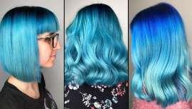 El mar entra de lleno en las tendencias de color para el cabello, imprimiendo un intenso azul al cabello que busca nuevas formas de expresión para mujeres que quieren marcar la diferencia, en consonancia con las nuevas tendencias