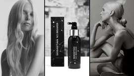 Spray híbrido de reconstrução e penteado, sem necessidade de enxaguar. Repara, fortalece, suaviza e mantém o volume e corpo natural do cabelo, estilizando-o. Revolução