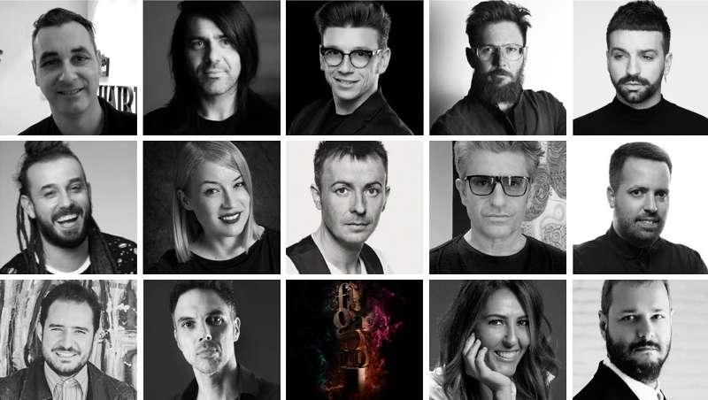 14 estrellas de la peluquería, los prenominados a Peluquero Español del Año