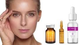 Potenciadores biorevitalizantes con ingredientes activos patentados  indicados antes y después de los tratamientos de medicina estética