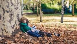 La falta de contacto con el medio natural origina numerosos problemas relacionados con el estrés o la ansiedad y los niños sufren también las consecuencias