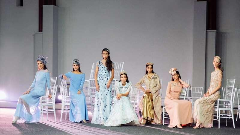 Novias con pelazo Heras, en la Bridal Fashion Films by Moda Cálida