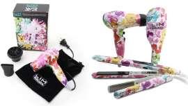 Ya puedes disfrutar del demandado estampado Flores de Lim Hair en tres de sus herramientas más funcionales y versátiles