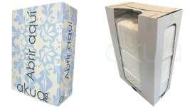 De primera calidad y en un formato de absoluta comodidad, así es la nueva caja dispensadora de toallitas desechables de H2oAkua, siempre pensando en el profesional