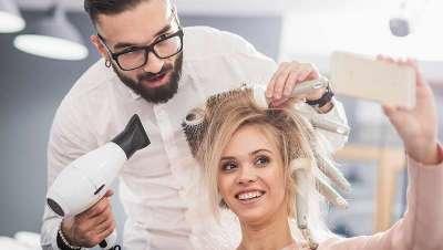 Referencers, cabeleireiros e centros de beleza que triunfam nas redes