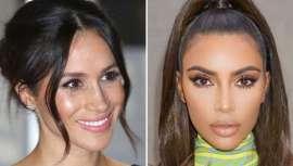 """Com motivo do Dia Mundial das pestanas, 19 de fevereiro, contamos-te o truque das """"socialites"""" mais imitadas, como o caso de Kim Kardashian e Meghan Markle para converter as tuas pestanas, como elas o fizeram, num ícone da tua própria beleza"""