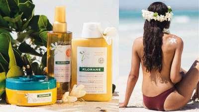Klorane Solar: gama inspirada en los secretos de belleza de Tahití
