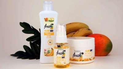 Se adoras salvar cabelos, Yellow Shot é o produto de resgate novidade de Salerm Cosmetics