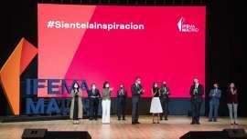La entidad ferial ha presentado, con la asistencia de Sus Majestades los Reyes y otras autoridades políticas, su nueva estrategia e imagen de marca, IFEMA MADRID
