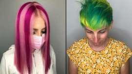 A fantasia ou coloração extrema rompe moldes e soma adeptos, homens e mulheres que vão ao salão de cabeleireiro em busca de malvas, fúcsias, azuis… que lhes distingam dos demais e fidelizem