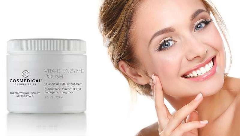 Vita-B Enzyme Polish, la nueva crema exfoliante de CosMedical Technologies