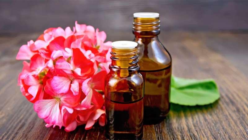 Aceite esencial de geranio, el relax