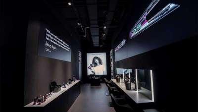 La primera tienda Dyson en España tiene salón de peluquería