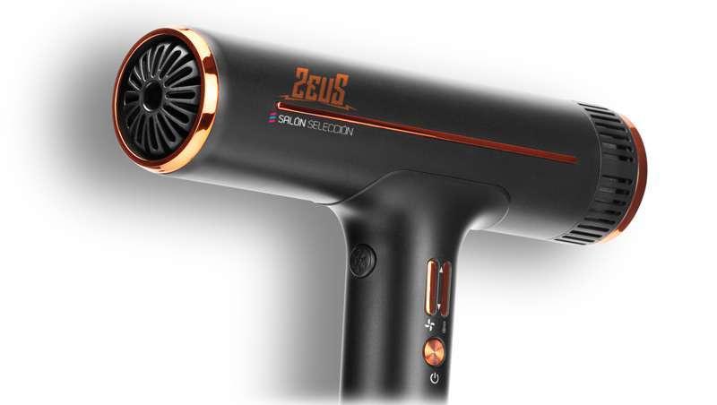 Revolução Zeus: o secador profissional ultraligeiro, compacto e minimalista