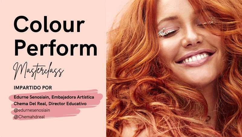 Próxima masterclass 'Colour Perform' con Edurne Senosiain, 'look & learn' en Studio Beauty Market