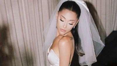 Un Vera Wang espectacular para una novia igual, Ariana Grande se ha casado