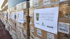 La Fundación VMV Cosmetic Group dona 80.000 unidades de loción hidroalcólica a Cruz Roja Española