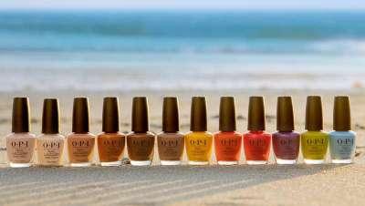 La nueva colección de Opi se llama Malibú, las manicuras más vibrantes y a todo color del verano