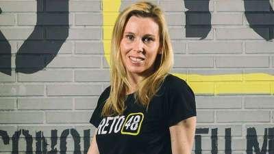 Sara Álvarez: 'Reto 48 es el desafío del cuerpo que conquista la mente'