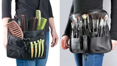 Tus herramientas a mano y sin pérdida, con el nuevo cinturón bandolera utillaje y el bolso cinturón para brochas de maquillaje, Perfect Beauty