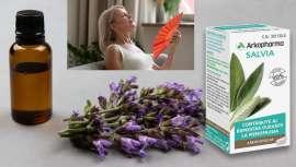 Arkopharma Laboratorios presenta Arkocápsulas Salvia BIO, un complemento alimenticio a base de salvia que contribuye al bienestar en la menopausia al ayudar a disminuir la sudoración