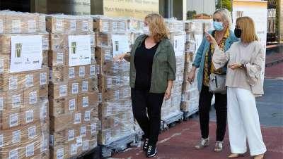 Fundación VMV Cosmetic Group culmina su campaña de donación de 170.000 botellas de gel hidroalcohólico