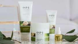 A linha de cuidado Pro Spa de OPI utiliza mais de 20 ingredientes diferentes para conseguir os melhores resultados