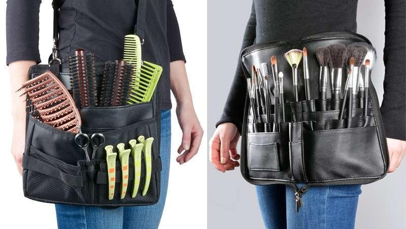 As tuas ferramentas à mão e sem perda, com o novo cinturão bandoleira e a bolsa cinturão  de Perfect Beauty