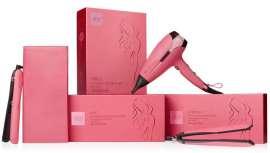 Durante los últimos 17 años, el proyecto solidario anual ghd, la edición limitada ghd pink, ha recaudado más de 20 millones de dólares para organizaciones benéficas contra el cáncer de mama a nivel mundial