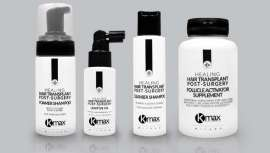 Los productos de la línea Healing vienen a ocupar un hueco fundamental en el mercado, observando la recuperación capilar tras un trasplante de pelo