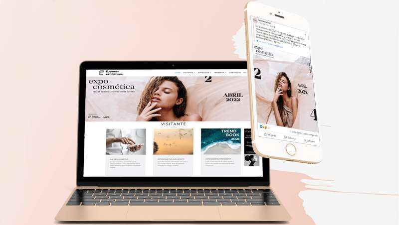 E+E Expocosmética, plataforma digital gratuita para expositores da feira
