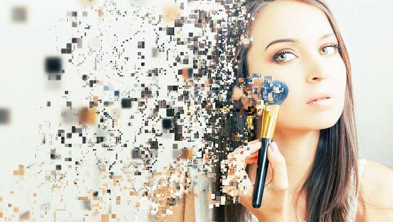 Beleza à carta, o poder do digital