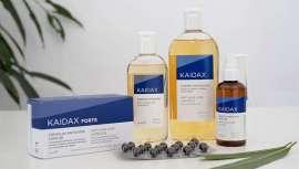 La línea está formada por el champú anticaida (en dos formatos), la loción anticaída y un complemento nutricional en formato cápsulas para prevenir y estimular la caída del cabello